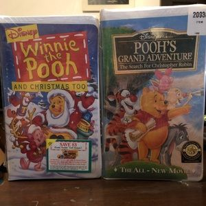 A Set Of New Winnie the Pooh VSH tapes.